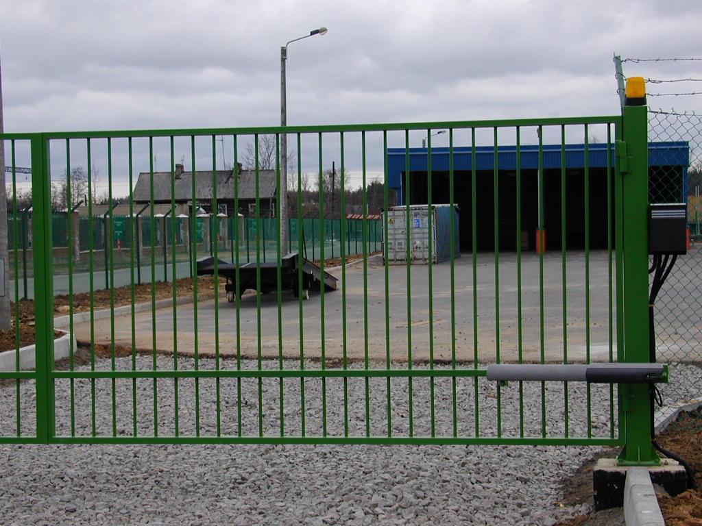 Автоматические ворота петербург ворота faac привод 540