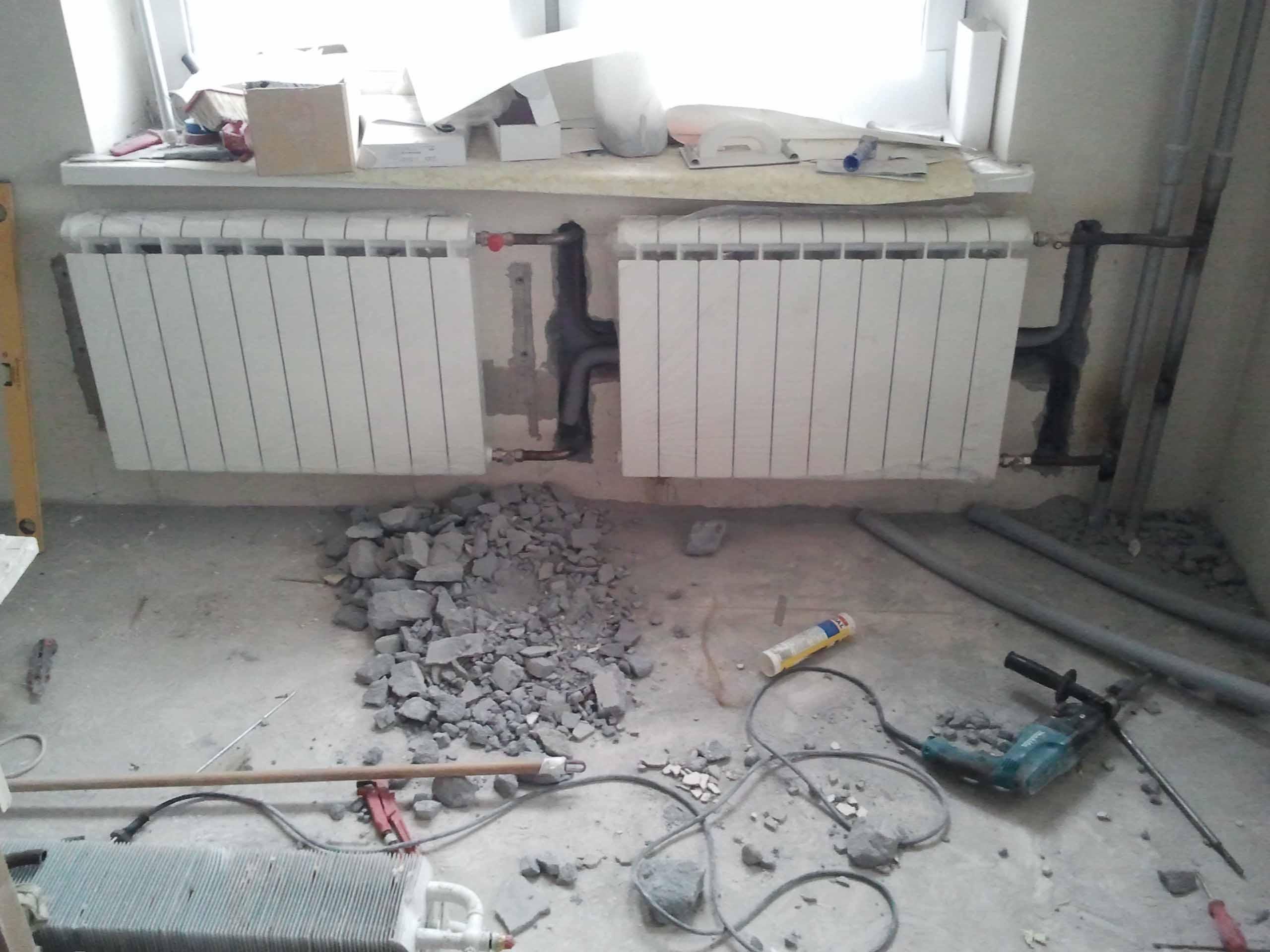 Отопление квартиры своими руками видео фото
