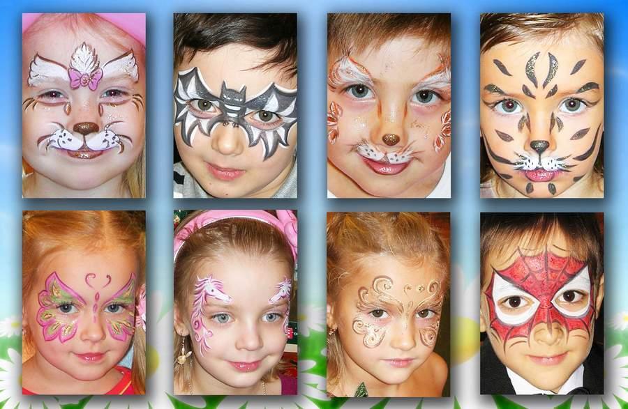 Рисунки как сделать рисунок на лице