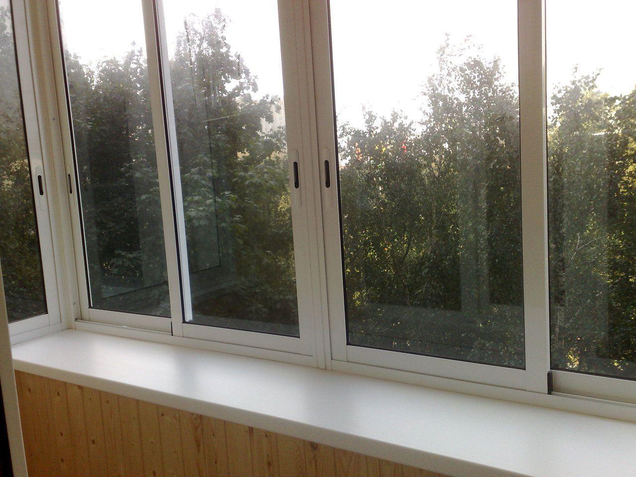 Металлопластиковое остекление балконов и лоджий в москве..