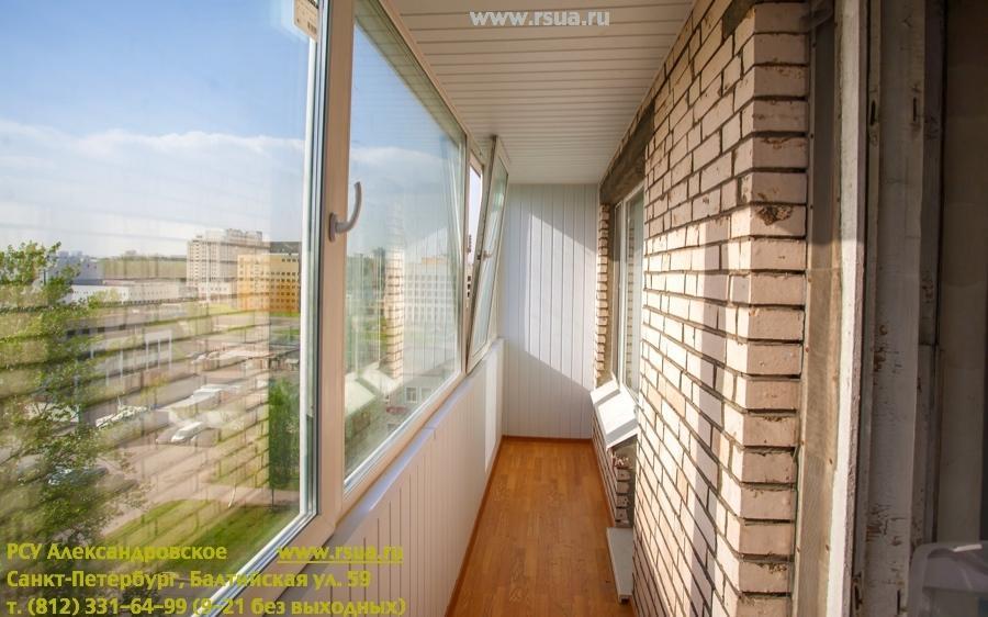 Остекление балконов и лоджий по выгодной цене - санкт-петерб.