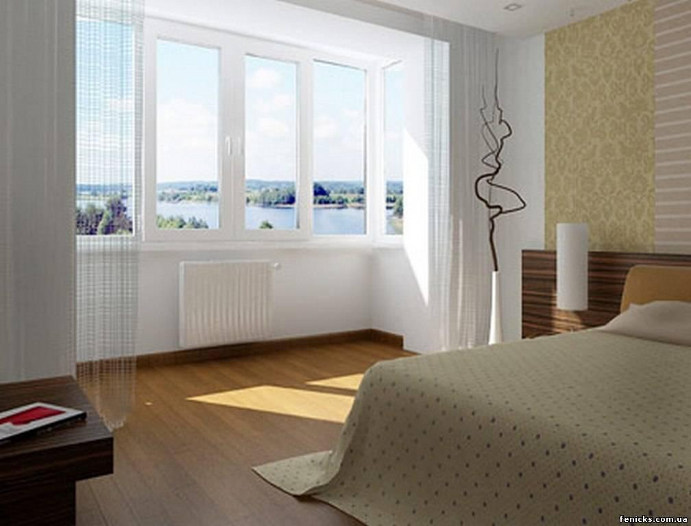 Балкон в квартире.