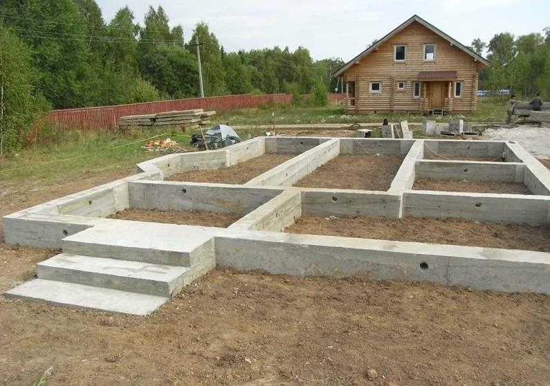 Строительство фундаментов своими руками