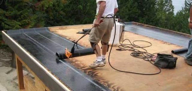 Покрыть односкатную крышу гаража своими руками