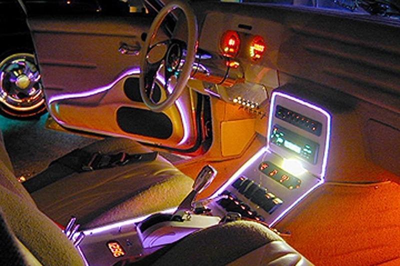 Светодиодная подсветка на авто