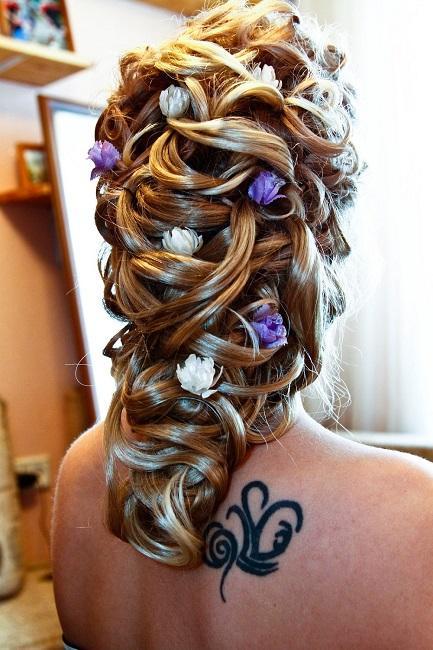парикмахерство свадебные прически