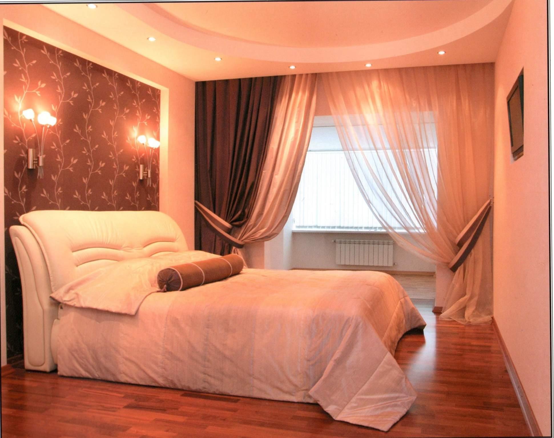 Спальня окно с балконом..