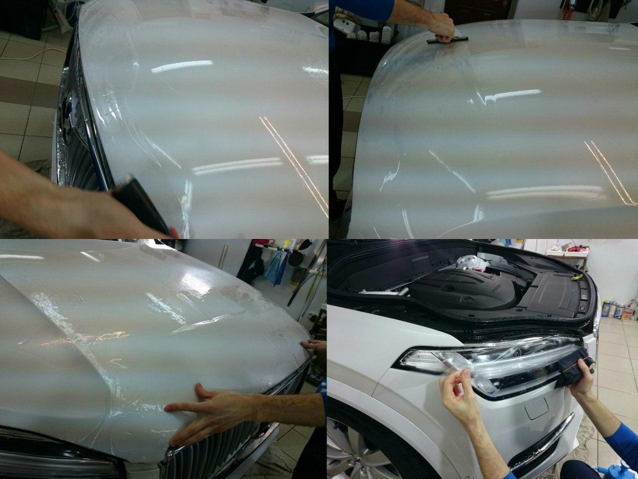 Защитные пленки на автомобиль своими руками