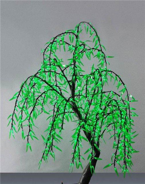 Деревья с гирляндами своими руками