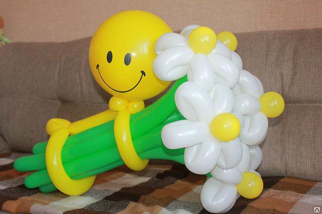 Фото как сделать из шаров цветы