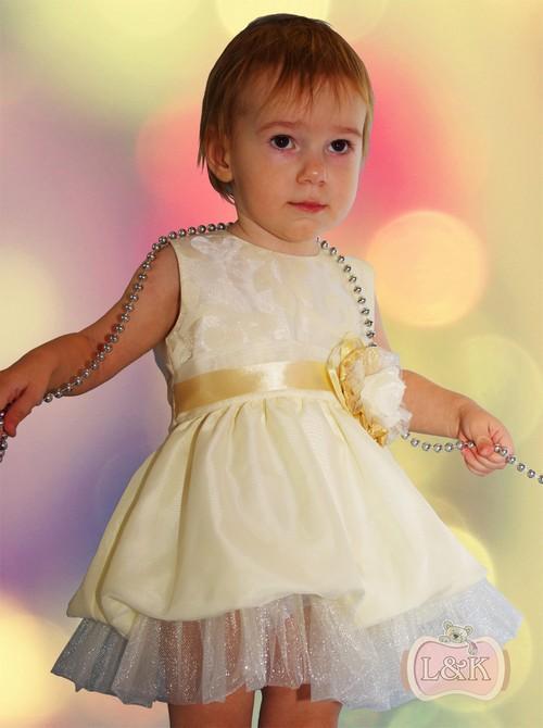 Фото платья для маленьких девочек до года
