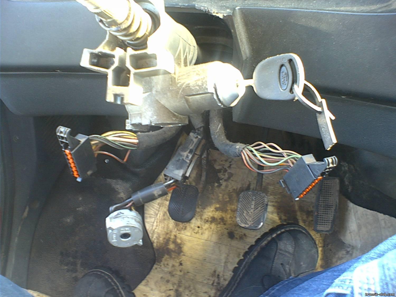 Форд фокус 2 замена замка зажигания и личинок 15 фотография