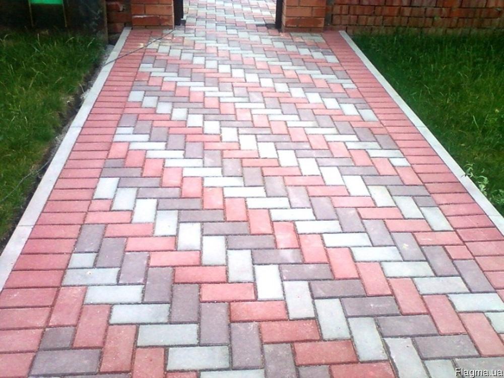 Образцы тротуарной плитки фото