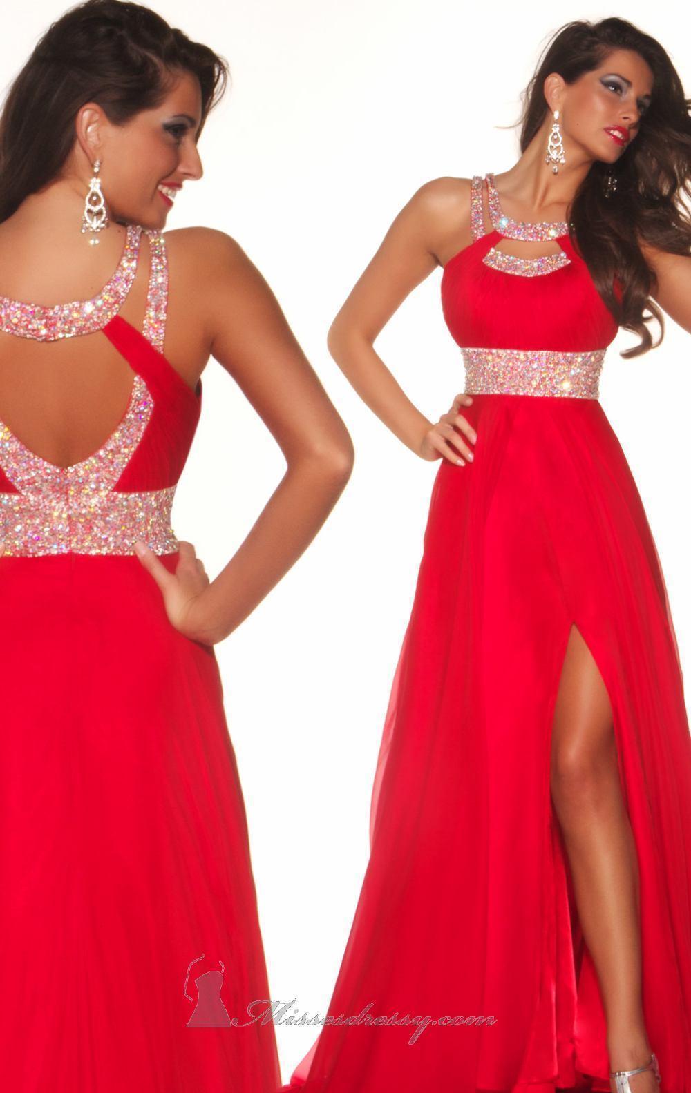 Фото красивые вечерние платья красный цвет