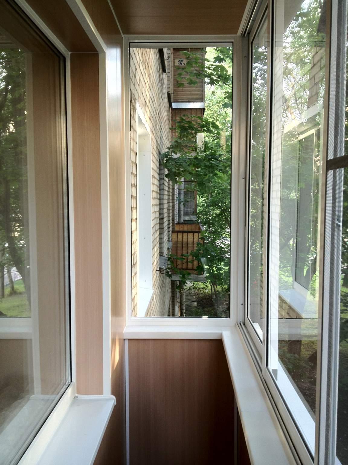 Монтаж балконов лоджии по немецкой технологии.