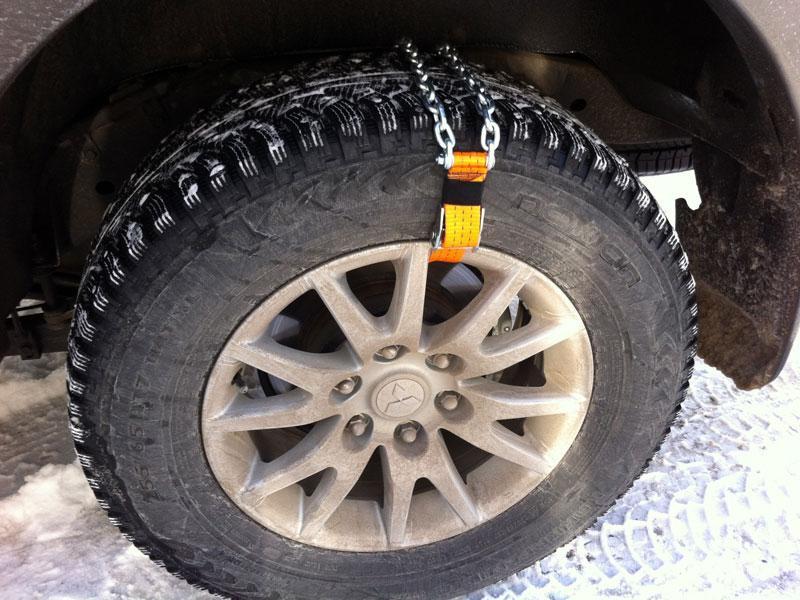 Цепи на колеса для грязи на ниву